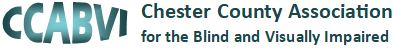 CCABVI – Chester County Association for the Blind and Visually Impaired Logo
