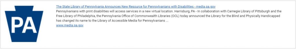 New Resource for Pennsylvanians with Disabilities